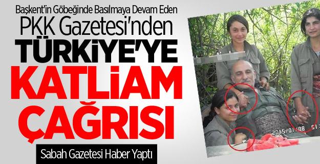PKK Gazetesinden Türkiye'ye Katliam Tehdidi