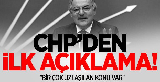 Kritik görüşme sonrası CHP'den ilk açıklama