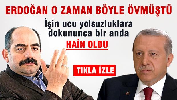 Erdoğan Zekeriya ÖZ'e övgüler yağdırırken -VİDEO