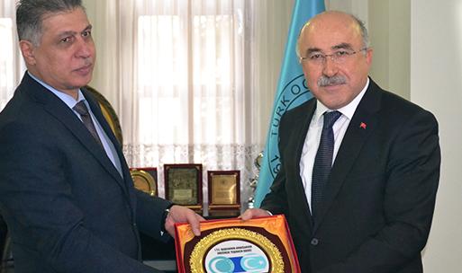 Türkmen Lider Erşad Salihi Türk Ocakları Genel Merkezini ziyaret etti