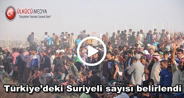 Türkiye'deki Suriyeli sayısı Kaç?
