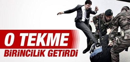 EN BİRİNCİ TEKME...!