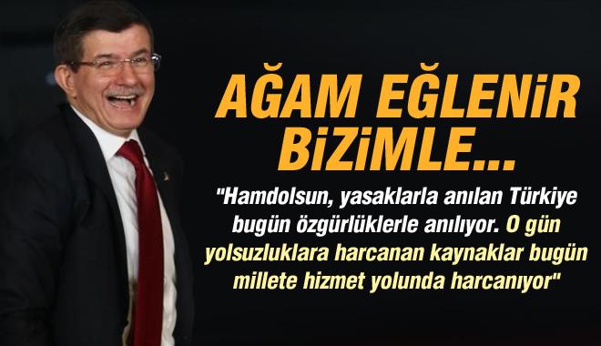 Davutoğlu 'Harikalar Diyarı'ndan Bildiriyor