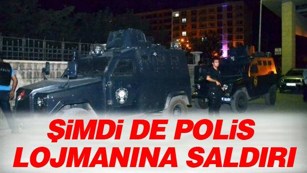 Lojmanda nöbet tutan polislere ateş açıldı: 2 polis yaralı