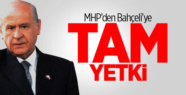 MHP'de Kritik Toplantı Sona Erdi