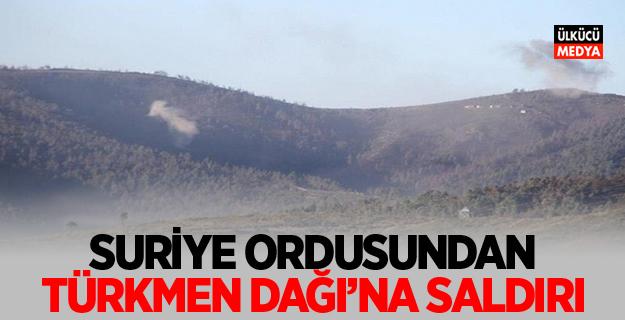 Türkmen Dağı'na saldırı!