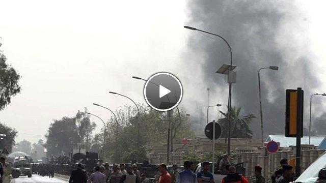 Bağdat'ta iki canlı bomba saldırısı