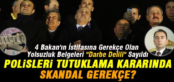 YOLSUZLUK BELGELERİ DARBE DELİL SAYILDI....!