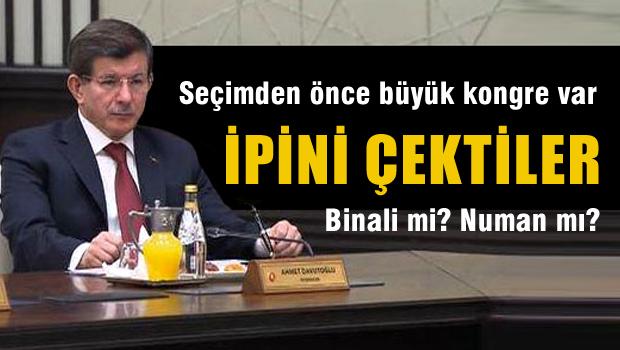 AKP'de seçimden önce kongre kararı alındı