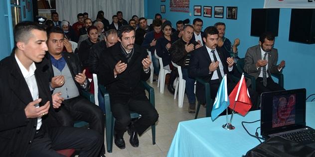 Milas Ülkü Ocakları: Ülkücü Şehitler Anma gecesi düzenledi