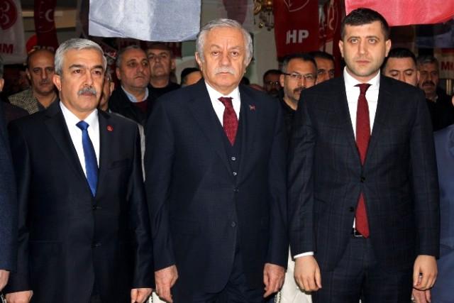 Ertuğrul Yücebaş Yeniden MHP Melikgazi İlçe Başkanı Seçildi