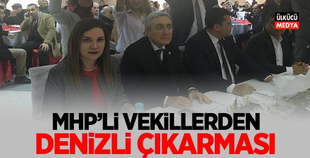 MHP'li Vekillerden Denizli Çıkarması