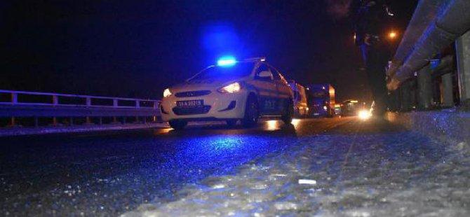 İzmir'de Buzlanma Kazaları