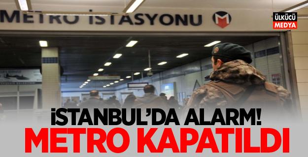 Reina saldırganı alarmı! Metro kapatıldı