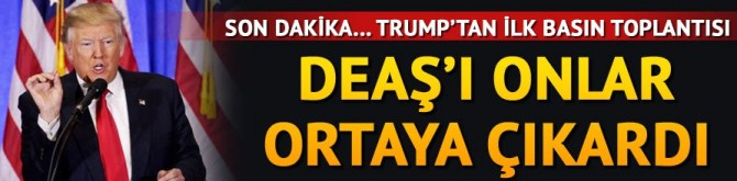 "TRUMP; ""DEAŞ'ı Obama yönetimi yarattı."""