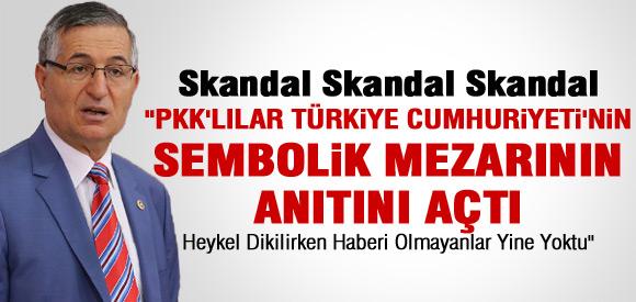 """""""PKK TÜRKİYE CUMHURİYETİ'NİN SEMBOLİK MEZARININ ANITINI AÇTI!"""""""
