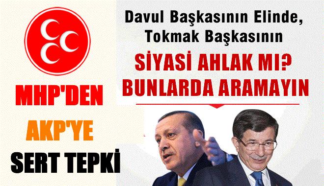 MHP'den AKP'ye Sert Cevap
