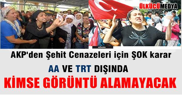 AKP'den Şehit Cenazeleri İçin ŞOK KARAR