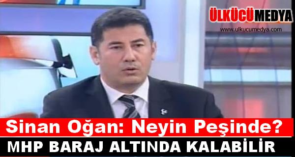 Sinan Oğan: MHP baraj altında kalabilir