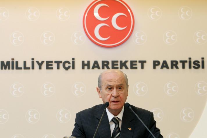 BAHÇELİ: PKK'YA EVET DİYEN AKP, MHP'YE YÜZÜNÜ DÖNMÜŞTÜR