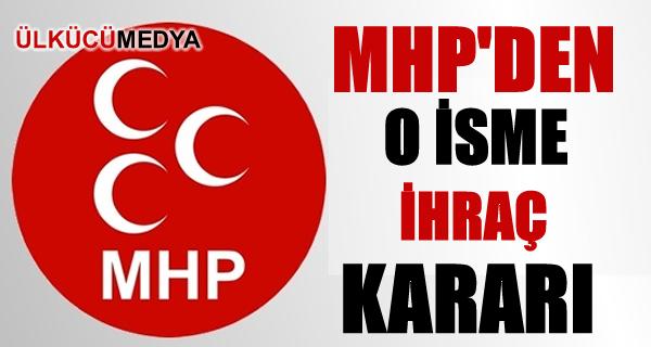 MHP'den Tuğrul Türkeş'e ihraç