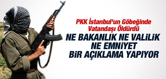 PKK İSTANBUL'UN GÖBEĞİNDE VATANDAŞI ÖLDÜRDÜ !