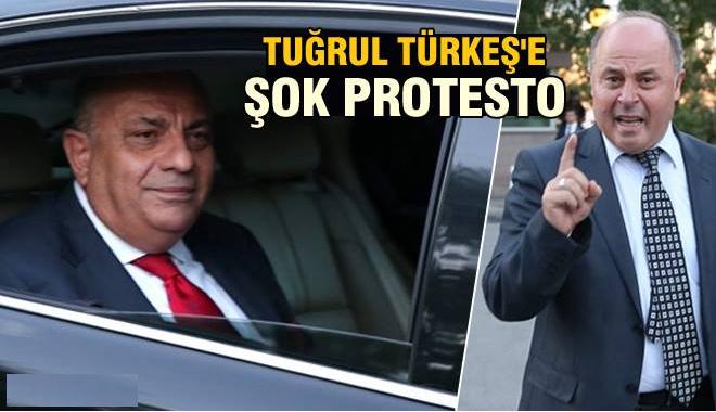 Tuğrul Türkeş'e Şok Protesto