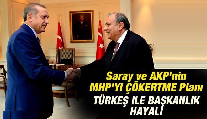Saray ve AKP'den MHP'yi Çökertme Planı mı?