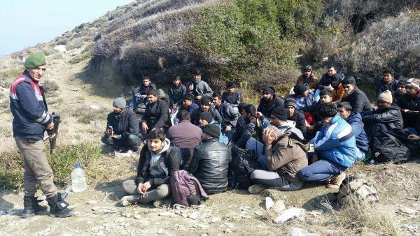Saros Körfezi'nde 146 Kaçak Yakalandı