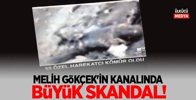 Melih Gökçek'in kanalından büyük skandal !