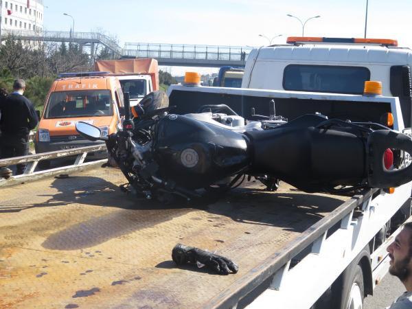 Tem'de Motosiklet Kazası: 1 Ölü 1 Yaralı