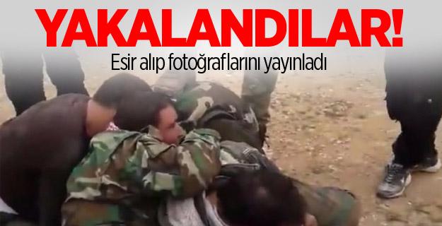 ÖSO yakaladı! Esir alıp fotoğraflarını yayınladı