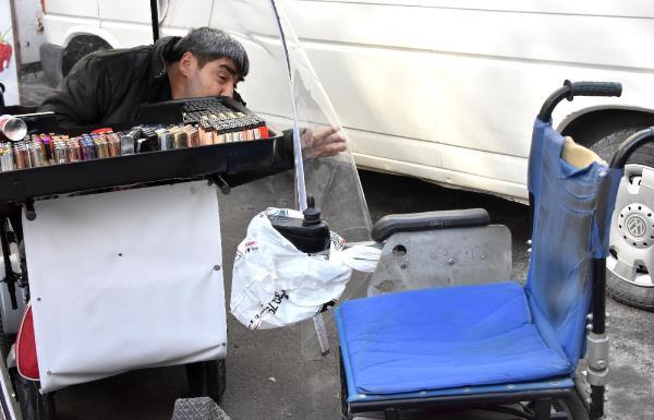 Engellinin Çalınan Akülü Arabası Polis Tarafından Bulundu