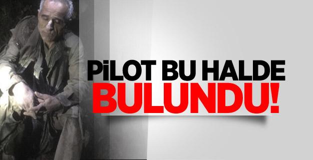 Hatay'a düşen uçağın pilotu 9 saat sonra bulundu