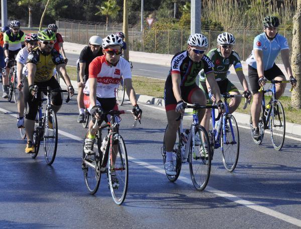 İşitme Engelliler Bisiklet Türkiye Şampiyonası Yapıldı