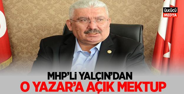 MHP'li Yalçın'dan, Emin Çölaşan'a Açık Mektup