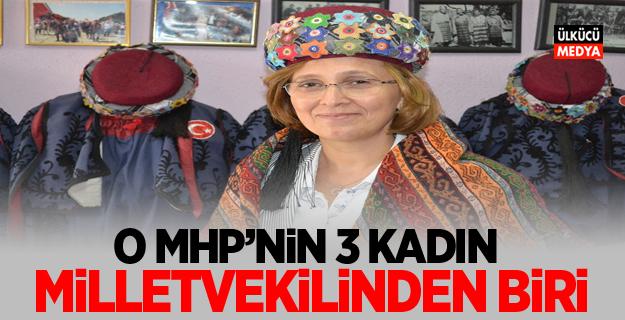 O MHP'nin 3 kadın milletvekilinden biri…