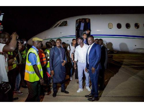Akon Promotes Youth Empowerment And Lighting Project İn The Gambia
