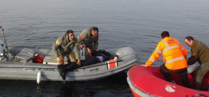 Balık Avlarken Denize Düşen Genç Boğuldu