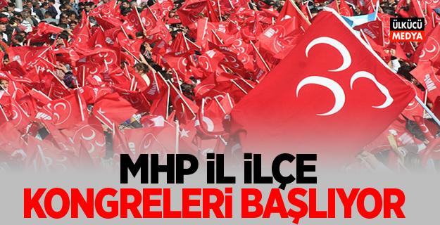 MHP Adana'da ilçe kongreleri başlıyor...