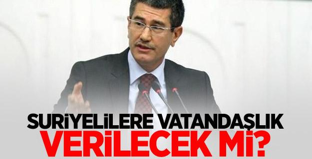 AKP'den 'Suriyelilere vatandaşlık' açıklaması