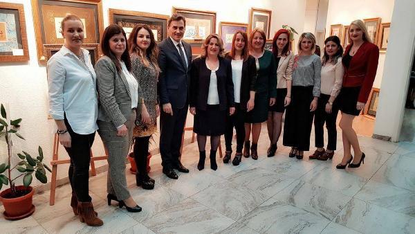 Kosova Demokratik Türk Partisi, '4 Kadın 4 Profil' Panel Düzenledi