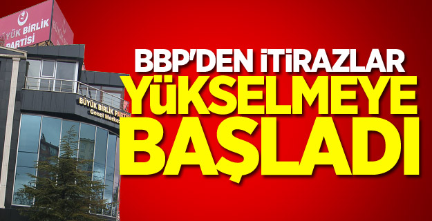 """BBP Sivas: """"Destici'yi kaybettik, hükümsüzdür"""""""