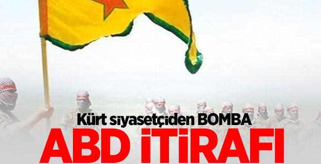 Kürt siyasetçiden ABD itirafı