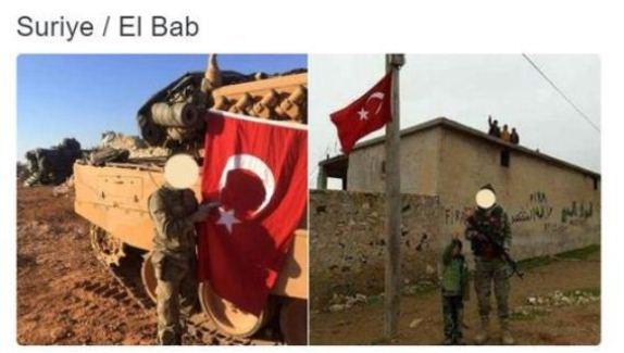 ÖSO / Fatih Sultan Mehmet Tugayı, EL Bab'da Türk bayrağı dikti