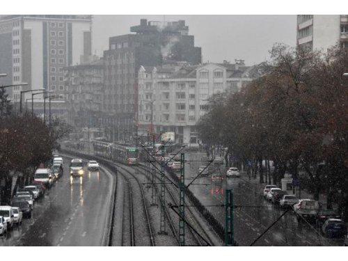 Kar Yağışı Konya'da da Etkili Oldu