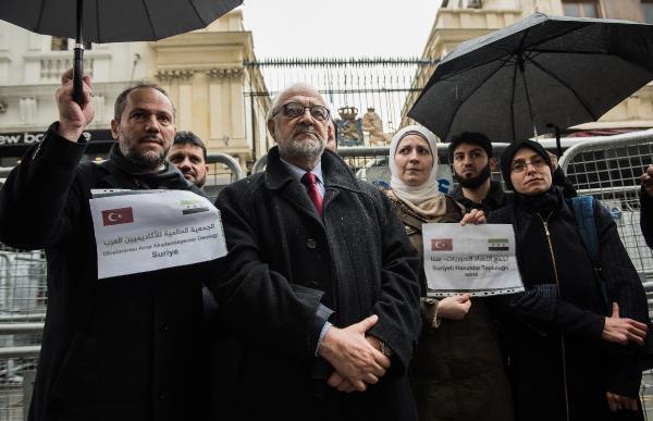 Suriyeli Sivil Toplum Örgütleri Türkiye'ye Destek Verdi