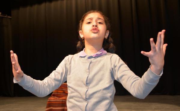 'İstiklal Marşı'nı Güzel Okuma Yarışması'nın Birincisi Suriyeli Shamaa