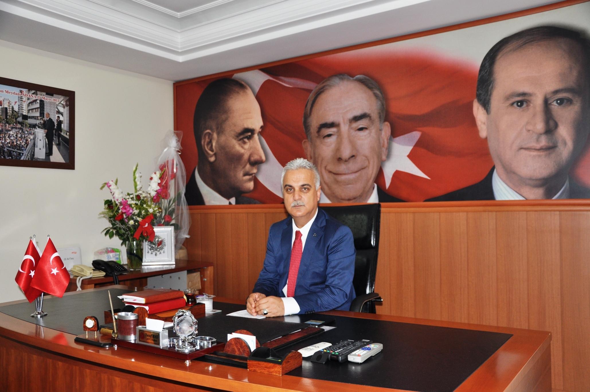 MHP Adana: Atatürk, milletimizin yolunu açan bozkurttur