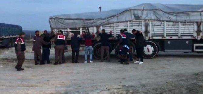 Tavuk Çiftliğine Kaçak Akaryakıt Baskını
